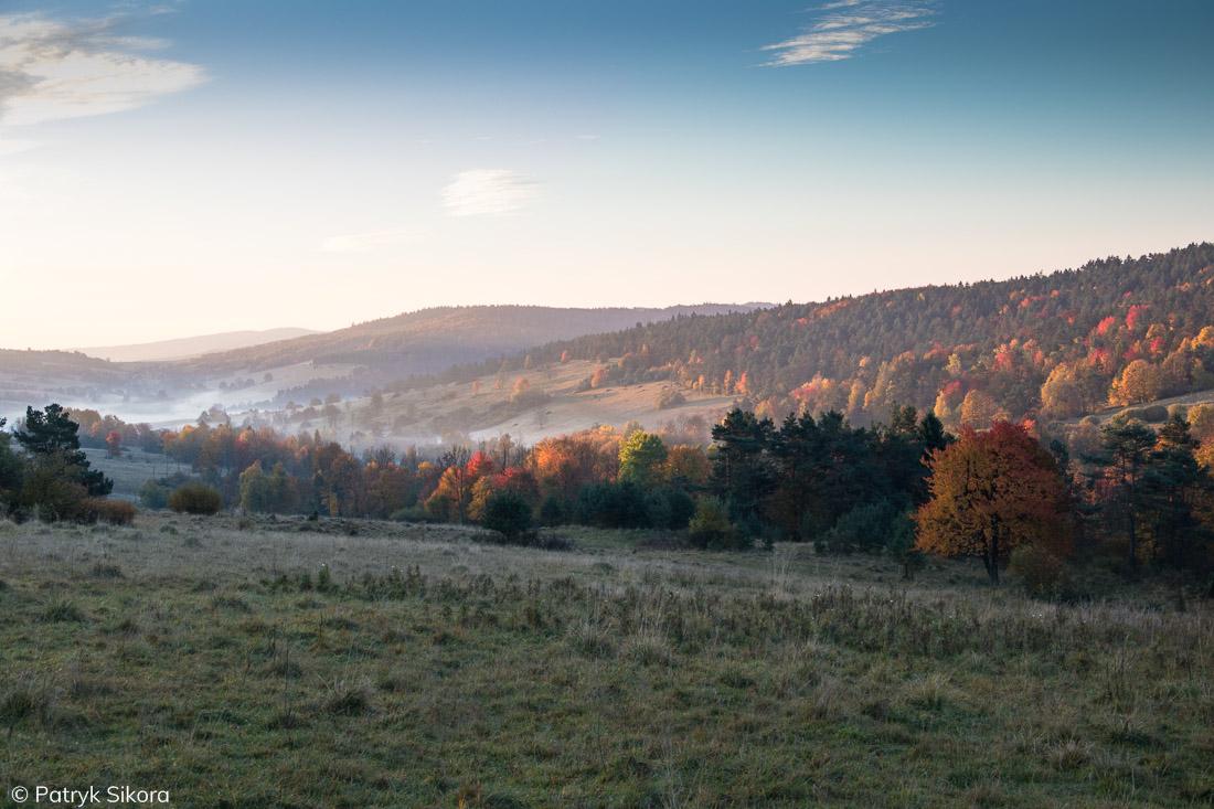 Krajobraz Beskidu Niskiego OSW Radocyna